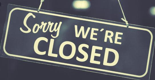 Closed Thursday, November 5 and Friday November 6