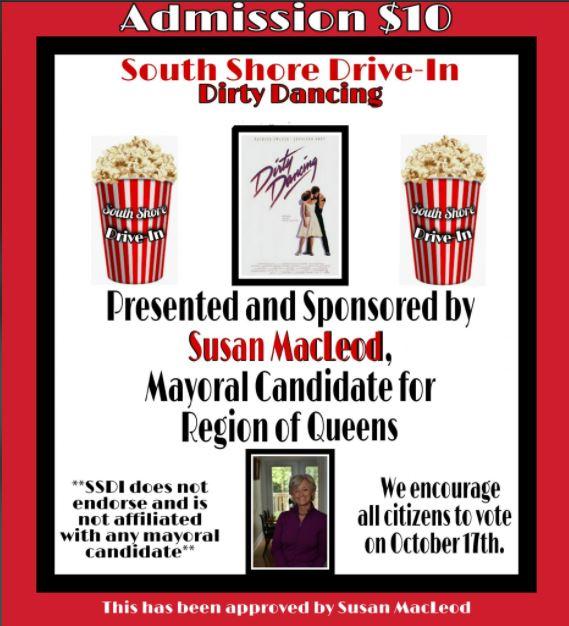 Movie – Dirty Dancing Saturday October 3, 2020