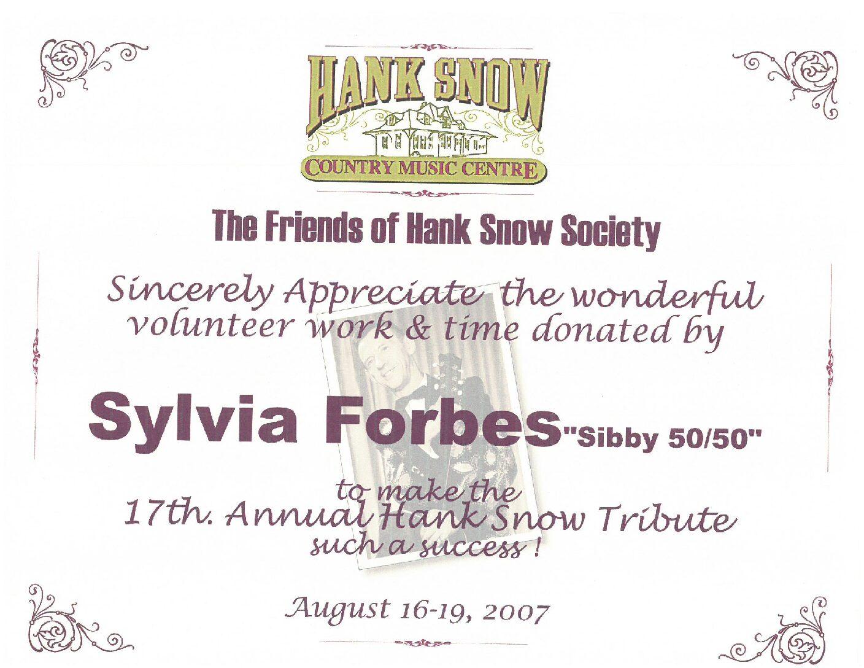 Volunteers the Lifeline of the Hank Snow Home Town Museum